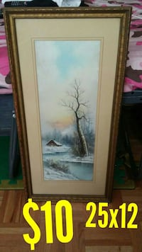 bare tree painting Markham, L3T 4X2