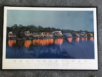 Boathouse Row Framed Poster
