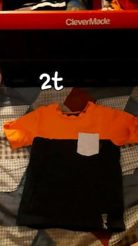 black and orange crew neck t-shirts Edmonton, T5T 3S9