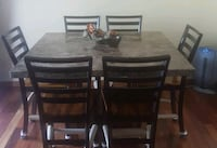 6 chair table set ....EXCELLENT CONDITION  Lake Zurich, 60047