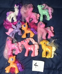 My Little Pony Happy Meal toys Lot 4(10) Montgomery, 36107