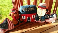 two red and blue bear plush toys Granite Falls, 98252