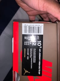 Travis Scott Jordan One Sz 10.5 (more pics)