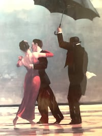 """""""The Singing Butler"""" Art Print by Jack Vettriano - REDUCED Baltimore, 21205"""