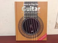 Book. Learn to play the Guitar. A step by step guide. 多伦多, M6G 3T7