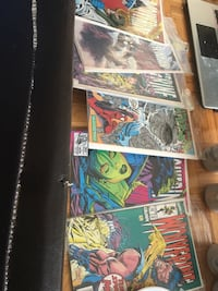 Assorted marvel comic book collection Toronto, M3N