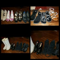 Shoe purging 15 pairs, some worn once or twice Langley City, V1M 2X5