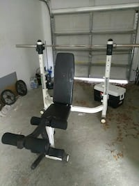 used powerhouse brand weights home gym for sale in tampa