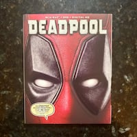 Deadpool (2016) Blu-ray + DVD + Digital HD Code Lake Ridge, 22192