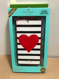 Kate spade iPhone 7plus and 8plus case Toronto, M3N 3A1