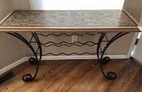 Pier one imports sofa/entry table with wine rack Highlands Ranch, 80126