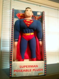 Superman Poseable plush Goose Creek