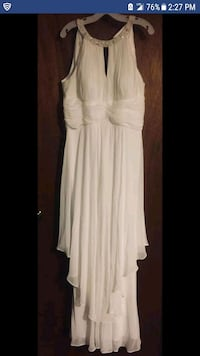 women's white sleeveless dress 37 km