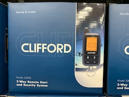Clifford paging car alarm with remote start and INSTALLATION  by viper