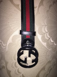black and red Gucci belt Mississauga, L5M 8A4