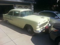 1955 Chevrolet 210 delray  2door very clean no rust barn find .