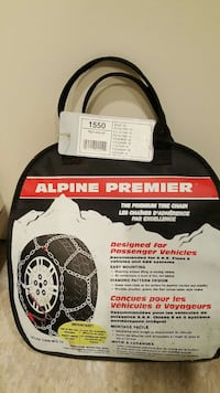 alpine premier tire chains with bag Laguna Hills, 92637