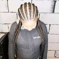 Trendy braids, feed-ins, frontals and more! Toronto