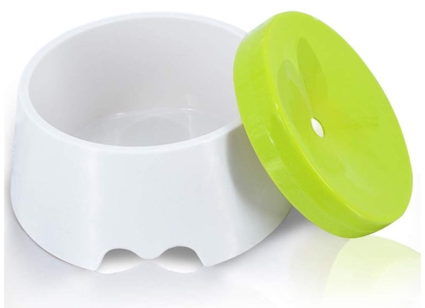 OSPet Dog Water Bowl No Spill Pet Water Bowl, No Skid and Anti-Choking  Dripless Bowl to Slow Down Drink for Dogs, Puppy, Cats, and Small or Large