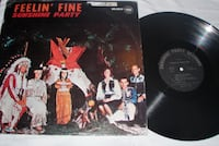 Sunshine Party Feelin' Fine Vinyl LP Anderson