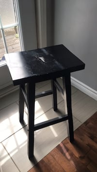 black wooden table with chairs Montréal, H9C 2H9