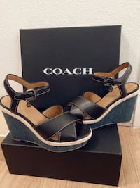 NEW Coach Wedge Shoes San Bruno, 94066