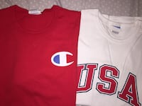red and white jersey shirt Oakville, L6M 4S4