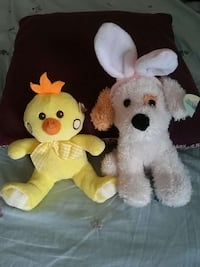 Easter stuffed animals (new)
