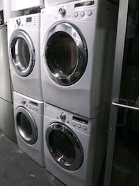 LG washer and gas dryer set