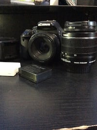 Canon t3i 50mm +18-55 mm lens Odenton, 21113