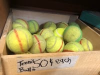 Tennis Balls 2 for $1 or 50cents each New Westminster, V3M 1E8