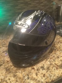 Black and blue hjc full-face helmet Lehighton, 18235