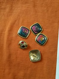 four assorted color gemstone rings Washington, 20002