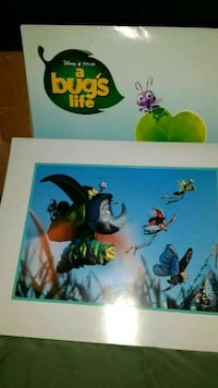 Disney Its a Bugs Life Lithograph Brodheadsville, 18322