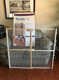 "New!! Midwest Homes for Pets Wire Mesh Pet Safety Gate, 44"" Tall and Expands 29-50"" Wide, Large St Thomas, N5R 6M6"