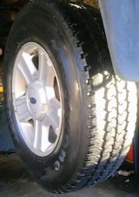 Set of (4) F150 - LT245/75/R17 Tires & Rims.