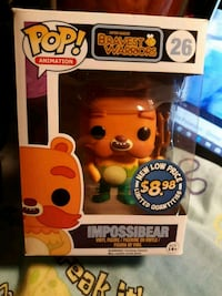 Bravest Warriors Funko Pop Impossibear Orange, 92867