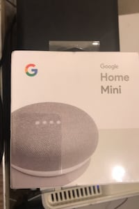 GoogleHome Mini New-in Sealed box