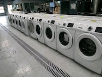 white and black front-load clothes washer Dearborn, 48126