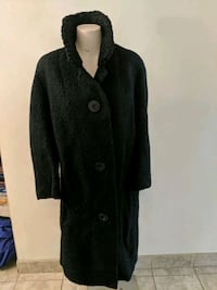 Vintage black button-up coat Kitchener, N2N 2X3