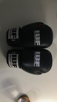 Black Boxing Gloves 16oz - Made from genuine leather Toronto, M1L 1L4