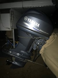 black and gray Evinrude outboard motor Lakeside, 92040