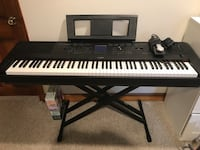 YAMAHA DGX-660 PORTABLE GRAND DIGITAL PIANO Washington, 20009