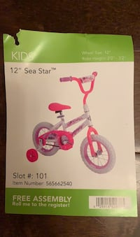 "12"" Brand New and Never Used Tricycle"