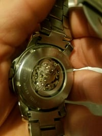 round silver-colored chronograph watch with link b Las Vegas, 89169