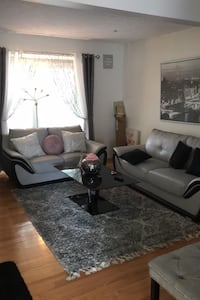 Two couches coffee table and dining room set Ellicott City, 21043