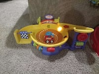 fisher price yellow and purple toy