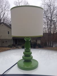 Green lamp w/shade $15. Charlottesville, 22901