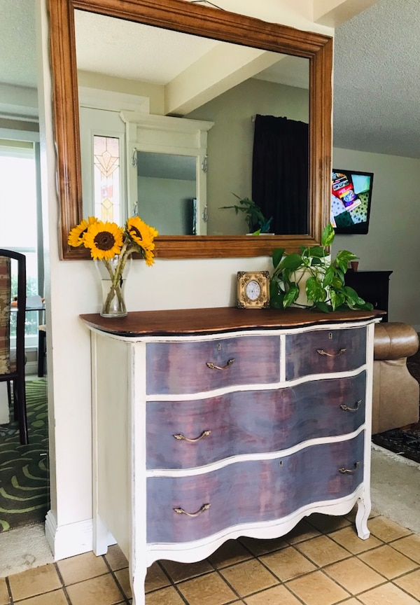 b0a6f703a4e723 Used Solid wood dresser chest of drawers entry table console for sale in  Sunnyvale