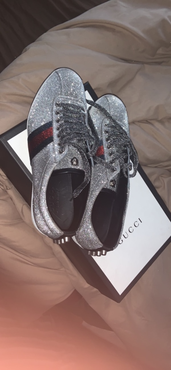 e2ea8815bf7 Used Sparkle gucci shoes WORN ONCE ! for sale in Atlanta - letgo